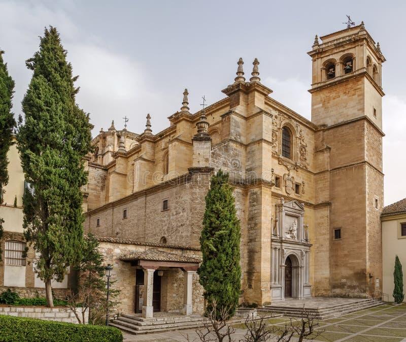 Monasterio De San Jeronimo, Granada fotografia stock