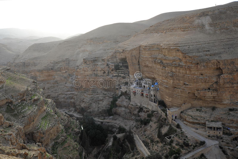 Monasterio de San Jorge, Israel. fotos de archivo
