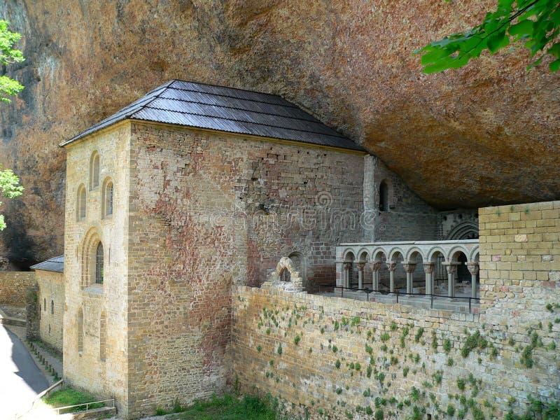 Monasterio DE San Juan de la Pena (Huesca) royalty-vrije stock foto's