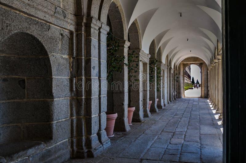 Monasterio de San Lorenzo de El Escorial Madrid, Espa?a fotos de archivo