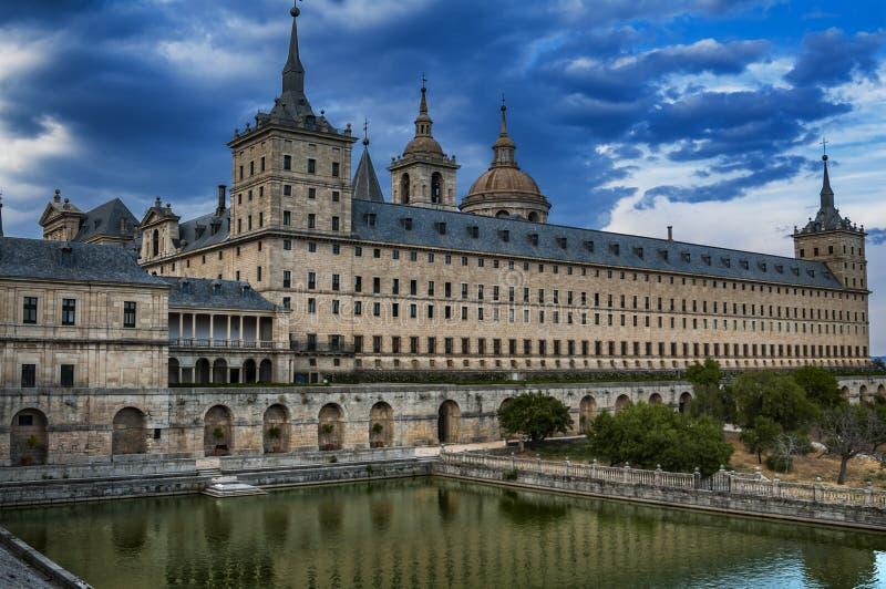 Monasterio de San Lorenzo de El Escorial Madrid, Espa?a fotografía de archivo