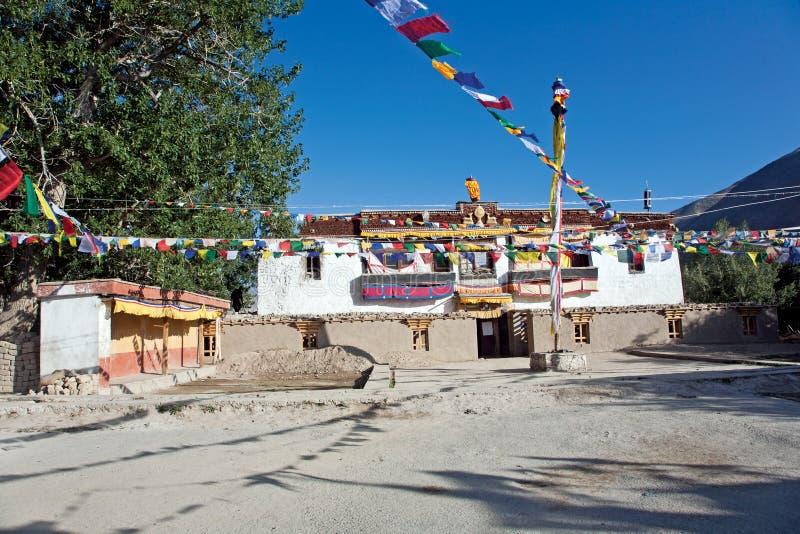 Monasterio de Sani, Padum-Zanskar, Ladakh, Jammu y Cachemira, la India fotografía de archivo