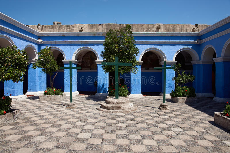 Monasterio de Santa Catalina στοκ εικόνα με δικαίωμα ελεύθερης χρήσης