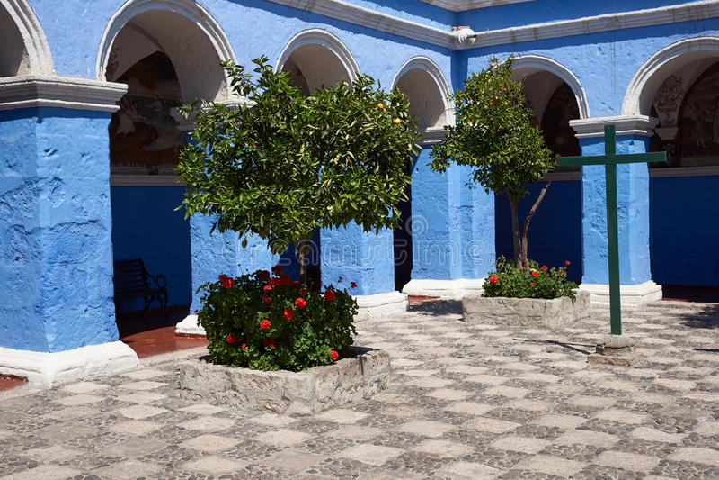Monasterio DE Santa Catalina stock foto
