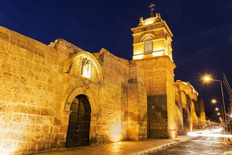 Monasterio DE Santa Catalina in Arequipa royalty-vrije stock foto
