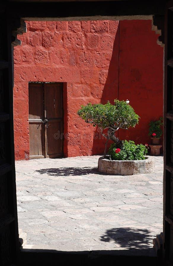 Monasterio de Santa Catalina, Arequipa, Perú imagen de archivo