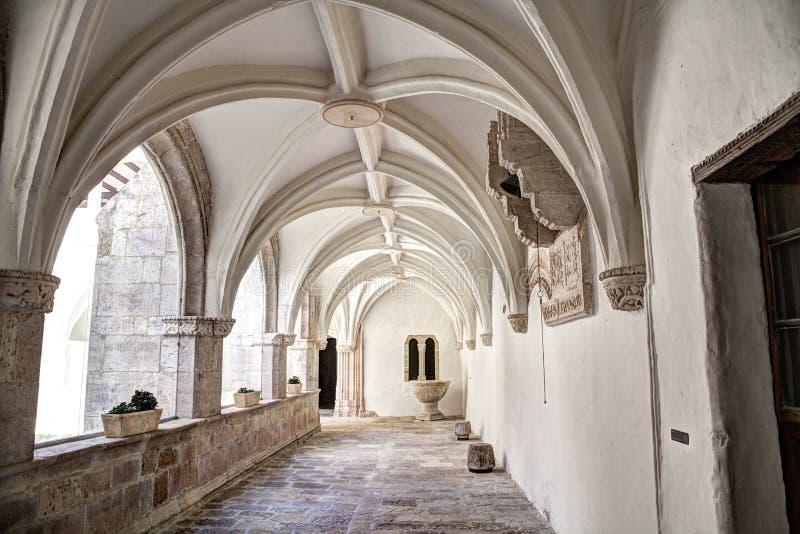Monasterio de Santa Clara em Burgos, Espanha imagem de stock royalty free