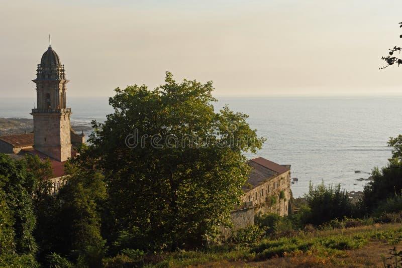 Monasterio de Santa Maria de Oia, foto de archivo