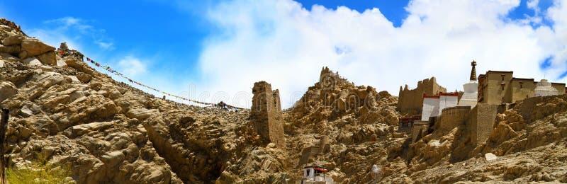 Monasterio de Shey foto de archivo