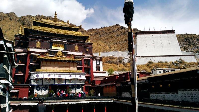 Monasterio de Shigatse imagen de archivo libre de regalías