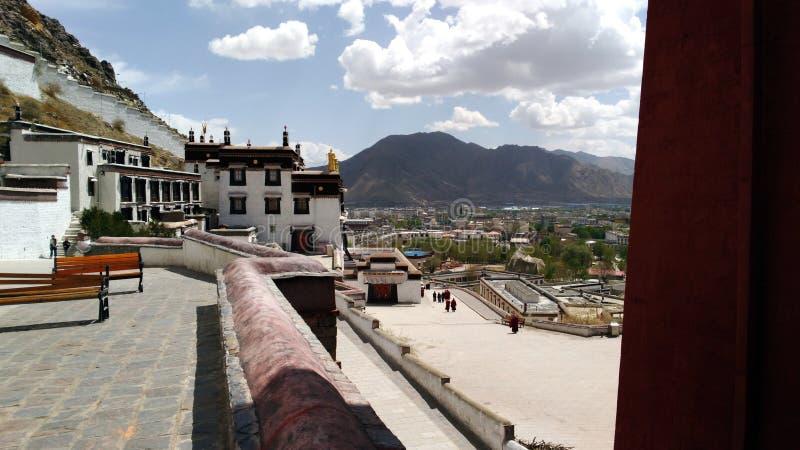 Monasterio de Shigatse imagenes de archivo