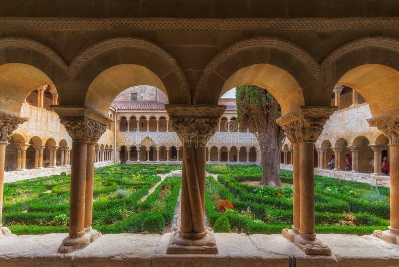 Monasterio de Silos à Burgos images libres de droits