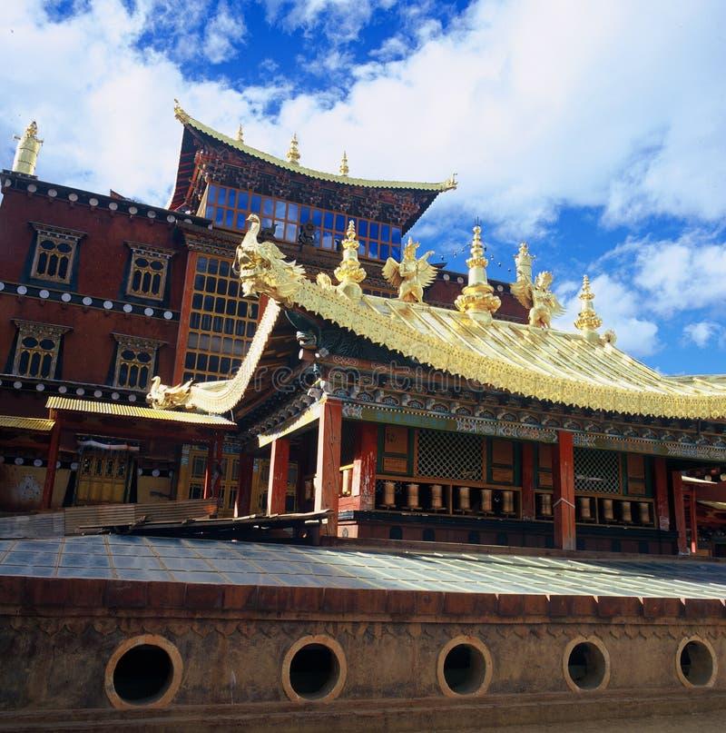 Monasterio de Songzanlin fotografía de archivo libre de regalías