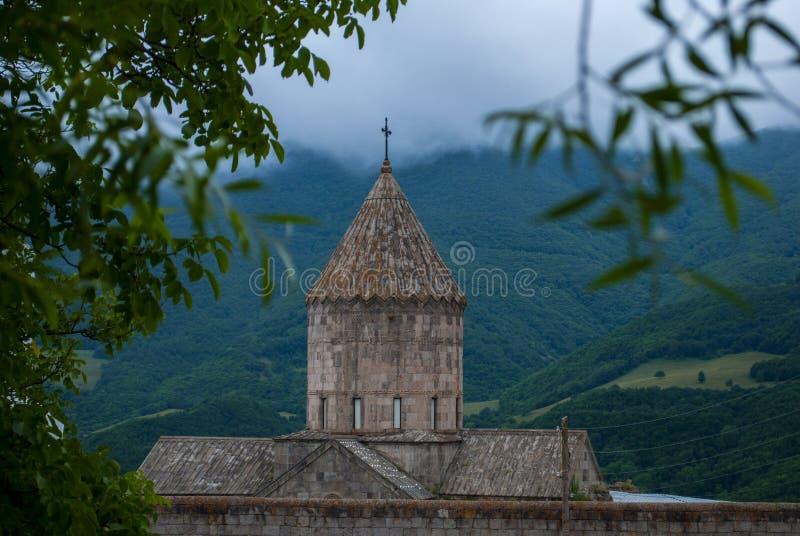 Monasterio de Tatev en la provincia de Syunik de la República de Armenia foto de archivo libre de regalías