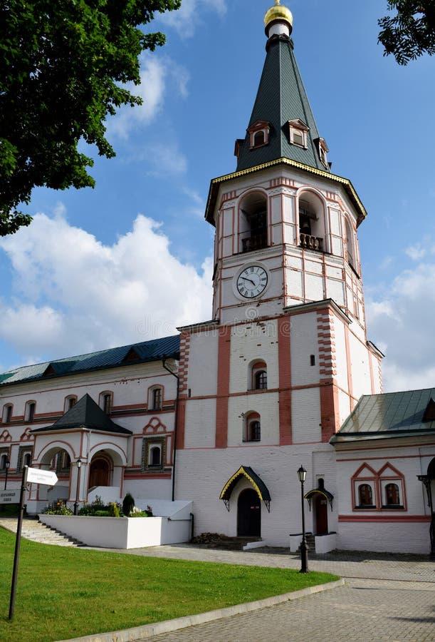 Monasterio de Valdai Iversky Bogoroditsky Svyatozozersky foto de archivo