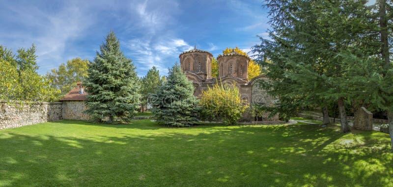 Monasterio de Veljusa - Strumica, Macedonia fotografía de archivo