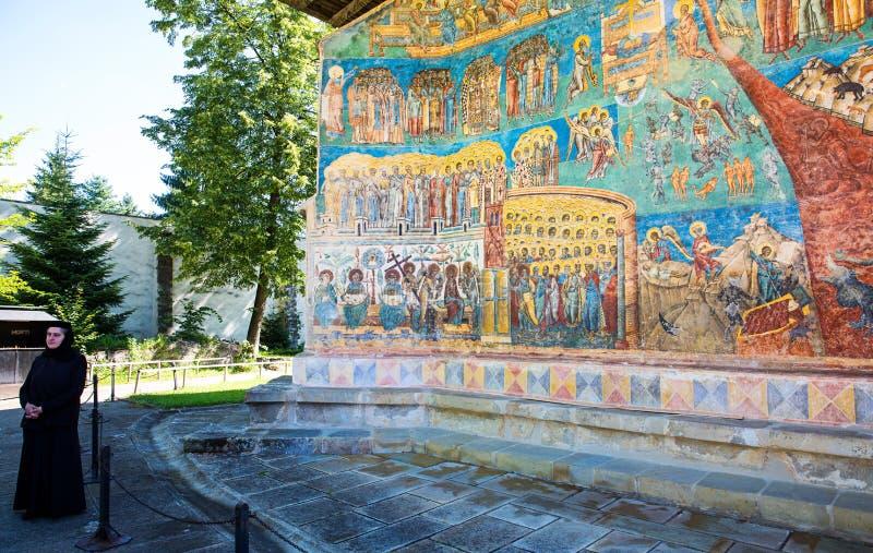 Monasterio de Voronet fotografía de archivo libre de regalías