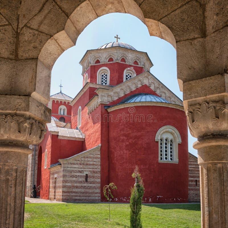 Monasterio de Zica imagen de archivo