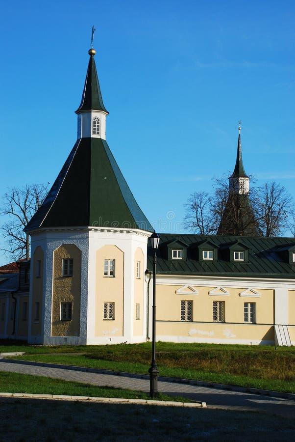 Monasterio del cristiano de Iversky imagenes de archivo