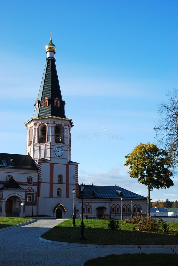 Monasterio del cristiano de Iversky imagen de archivo