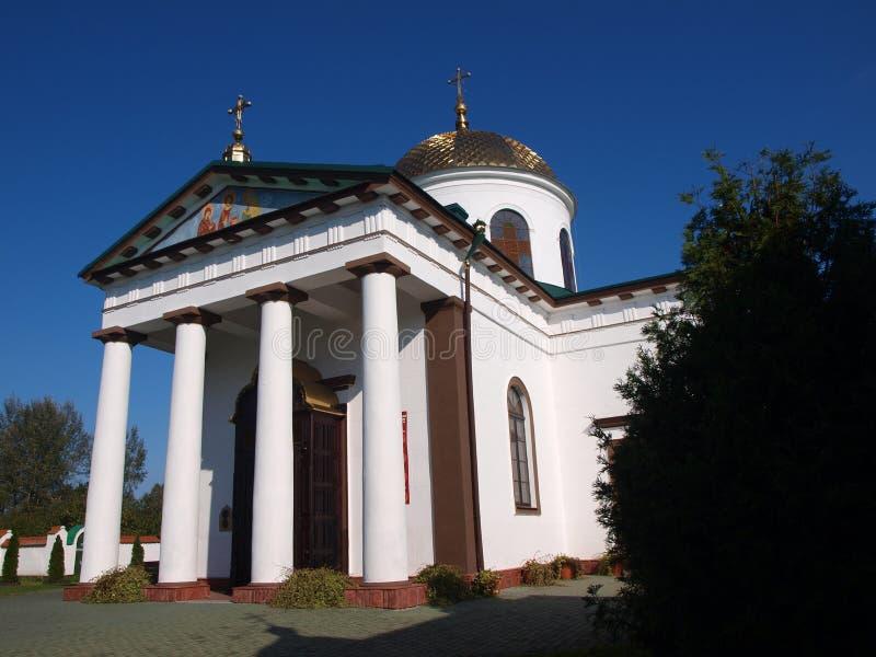 Monasterio del eczna del 'de JabÅ, Polonia fotografía de archivo