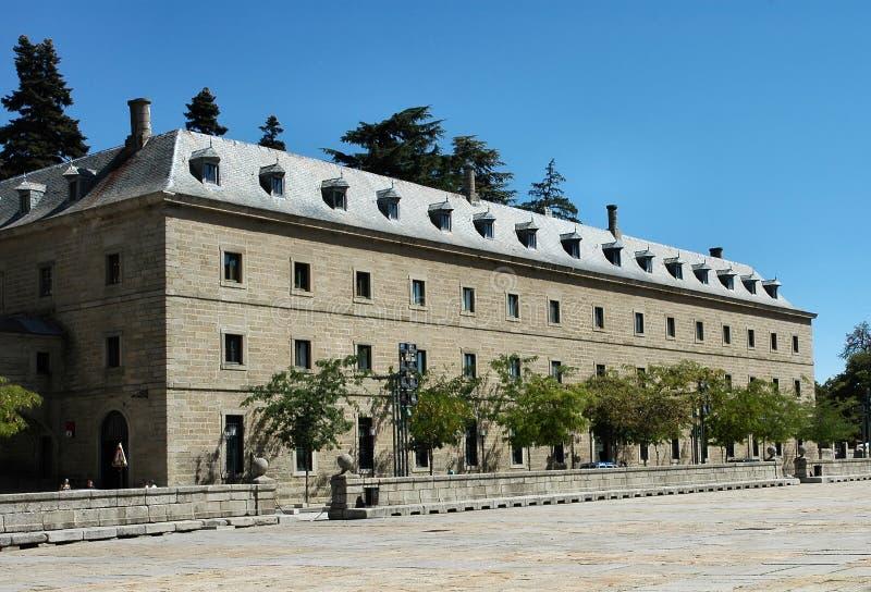 Monasterio del EL Escorial fotos de archivo