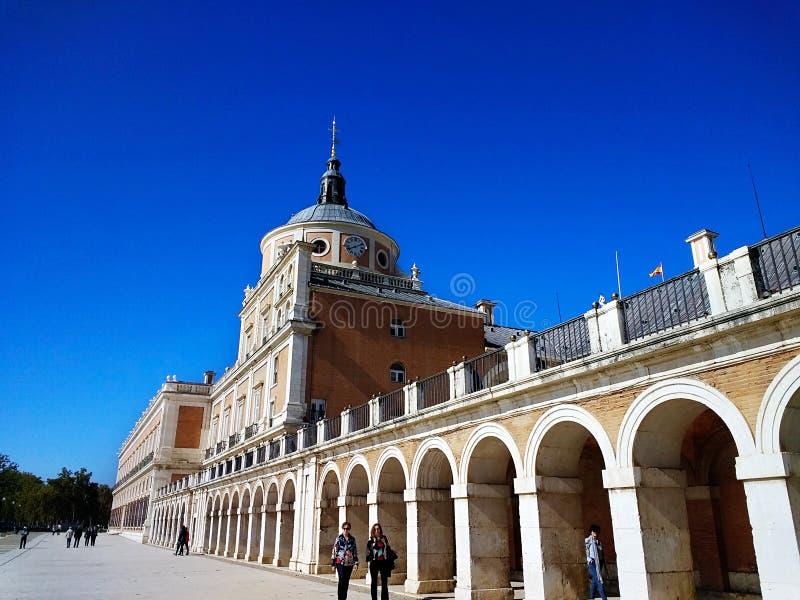 The Royal Site of San Lorenzo de El Escorial. stock photo