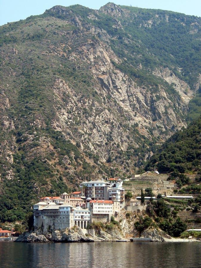 Monasterio del Mt Athos imagen de archivo