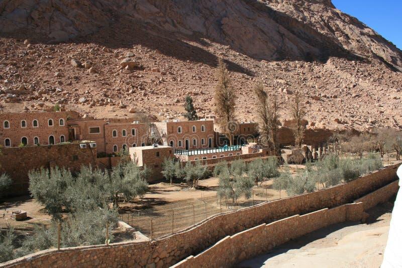 Monasterio del santo Catherine imagen de archivo
