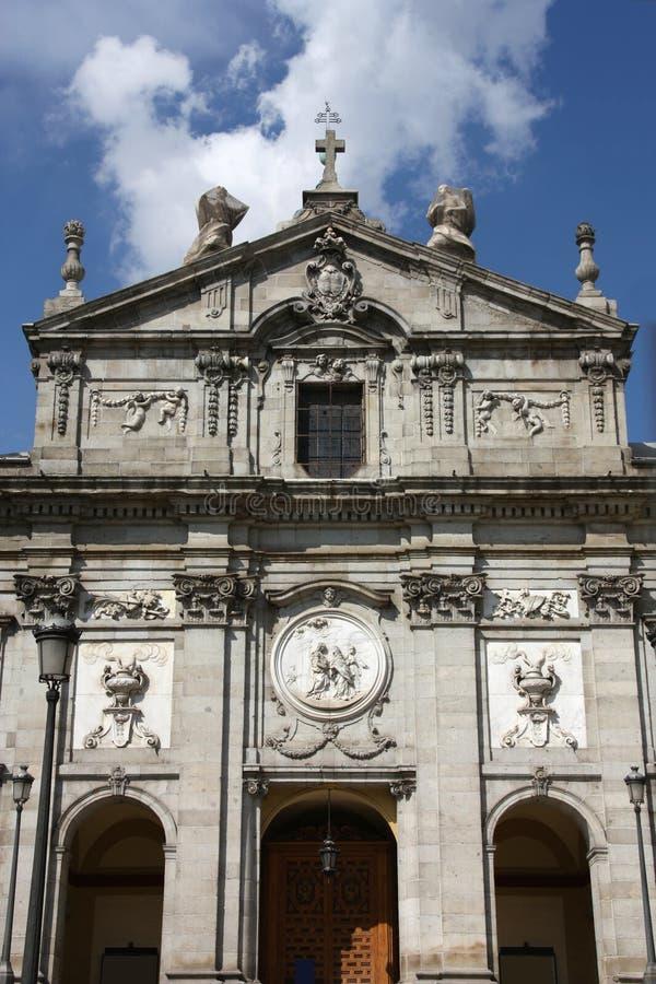 Monasterio en Madrid imagen de archivo