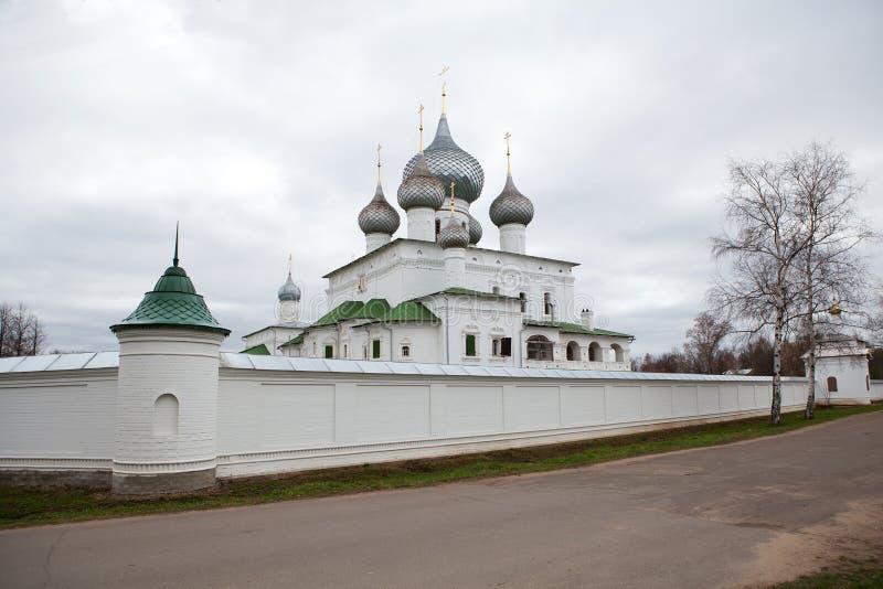 Monasterio en Uglich, Rusia foto de archivo libre de regalías