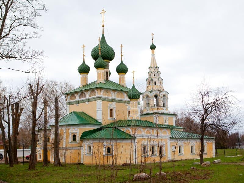 Monasterio en Uglich, Rusia fotos de archivo