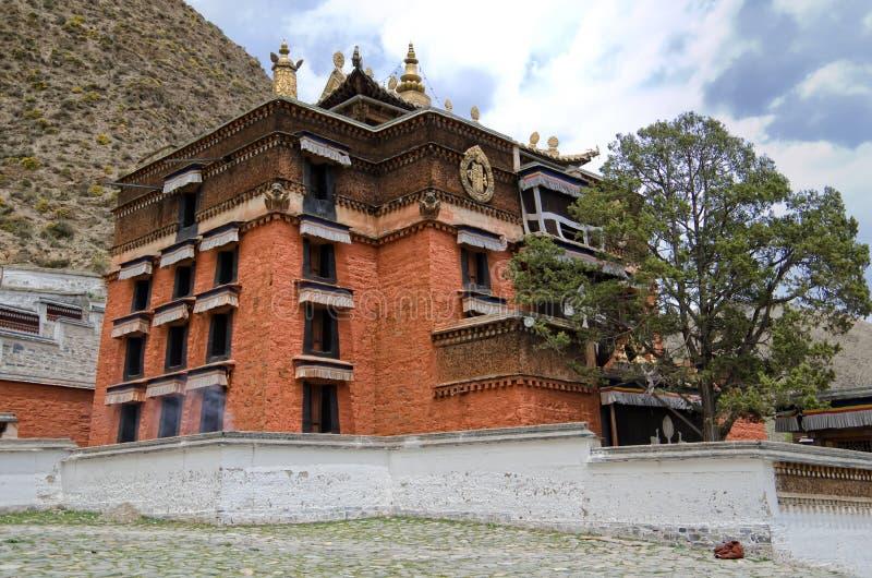 Monasterio en Xiahe, China de Labrang fotos de archivo libres de regalías