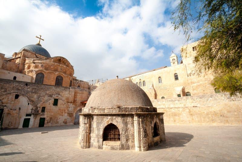 Monasterio etíope de Jerusalén imagen de archivo
