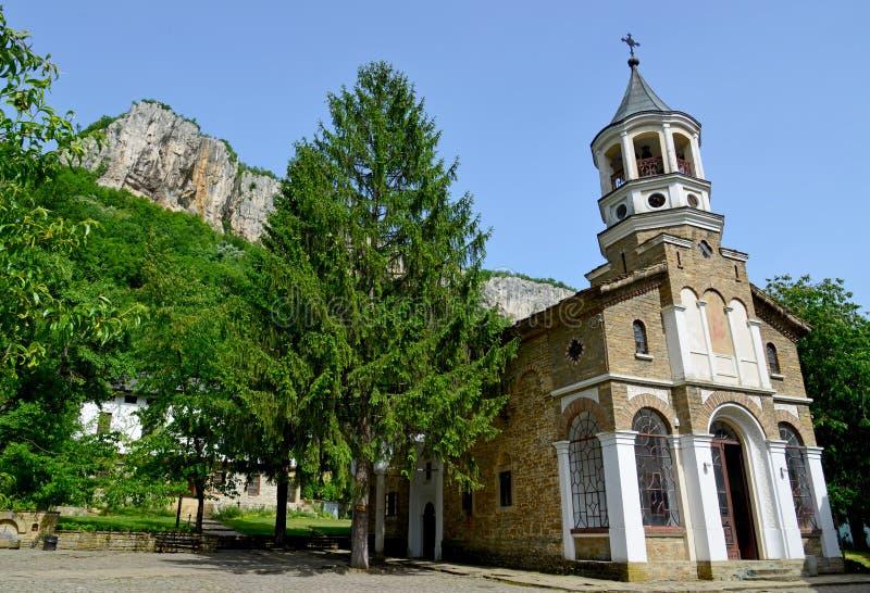 Monasterio famoso de Michael del arcángel del St. de Dryanovo fotografía de archivo libre de regalías
