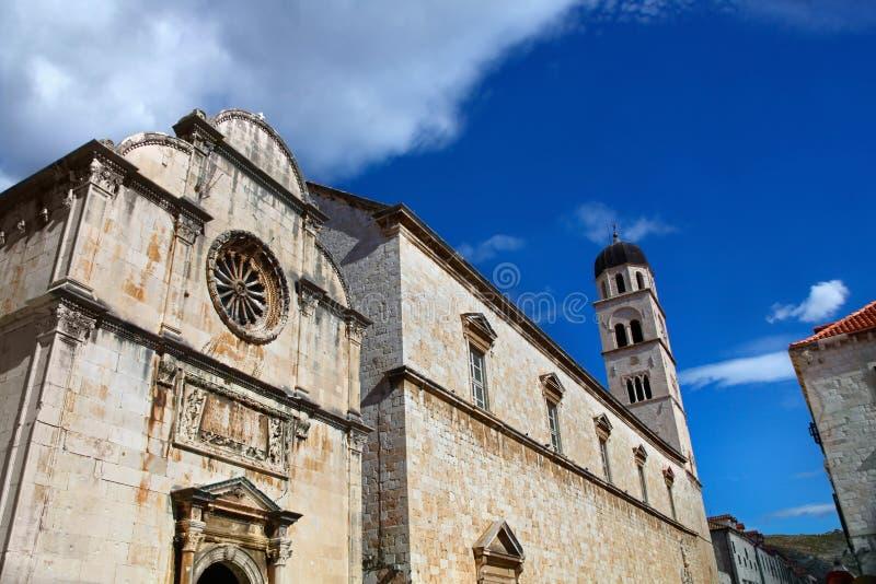 Monasterio franciscano. Dubrovnik, Croacia fotografía de archivo libre de regalías
