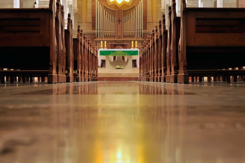 Monasterio franciscano e iglesia del St. Catherine imágenes de archivo libres de regalías