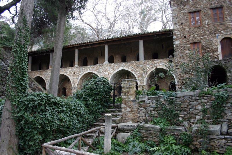 Monasterio Medieval Fotografía de archivo