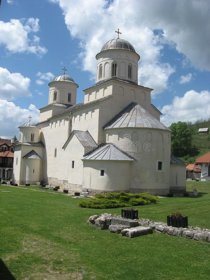 Monasterio Mileseva El monasterio de Mileseva Cristiano, antiguo imágenes de archivo libres de regalías