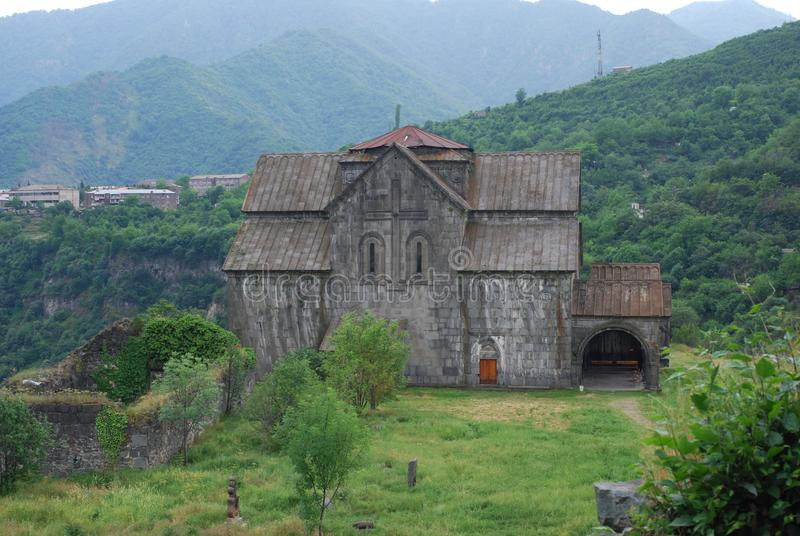 Monasterio o Akhtala Vank, Pghindzavank de Akhtala en Armenia imágenes de archivo libres de regalías
