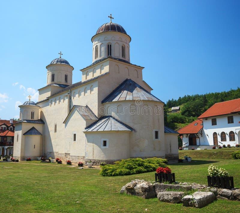 Monasterio ortodoxo Mileseva foto de archivo libre de regalías