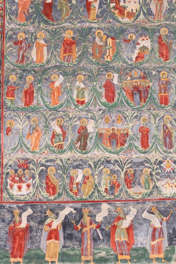 Monasterio pintado fotos de archivo libres de regalías