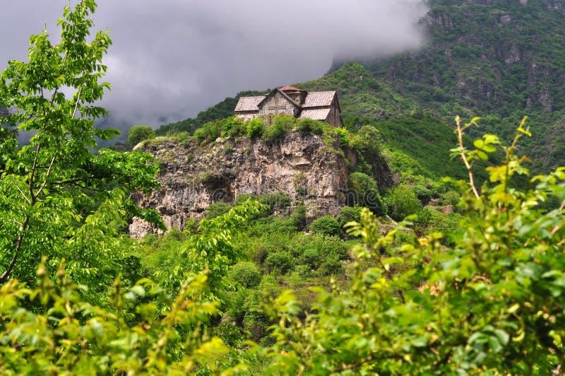 Monasterio sagrado de Akhtala en Armenia foto de archivo libre de regalías