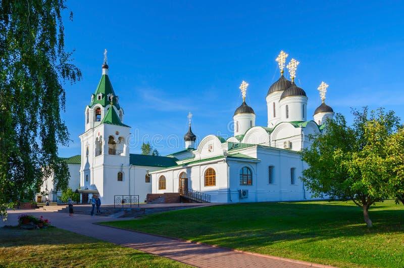 Monasterio santo de la transfiguración, Murom, Rusia imagen de archivo