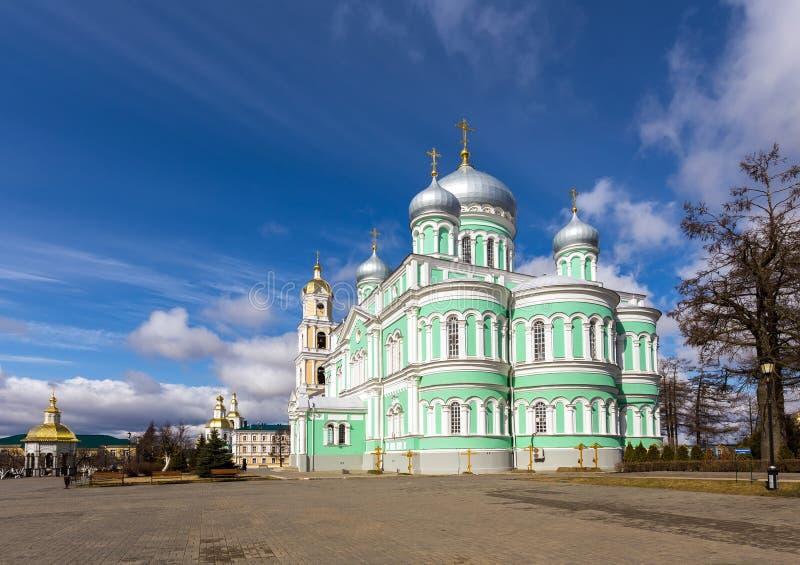 Monasterio santo del serafín-Diveyevo del Trinidad-santo Nizhny Novgorod foto de archivo libre de regalías