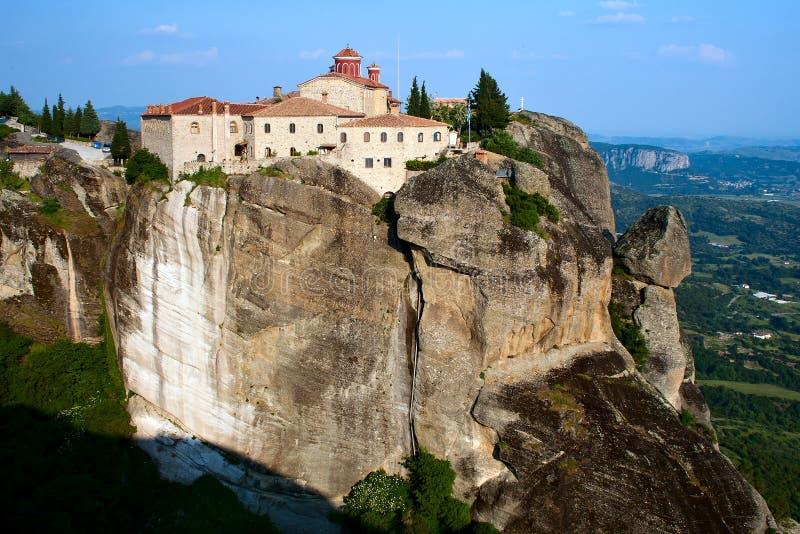 Monasterio Stefan sagrado, Meteora, Grecia foto de archivo libre de regalías