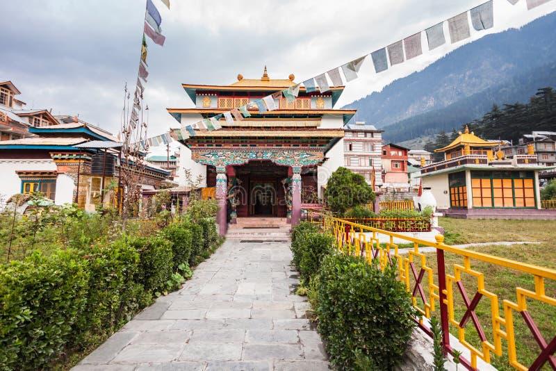 Monasterio tibetano fotos de archivo libres de regalías