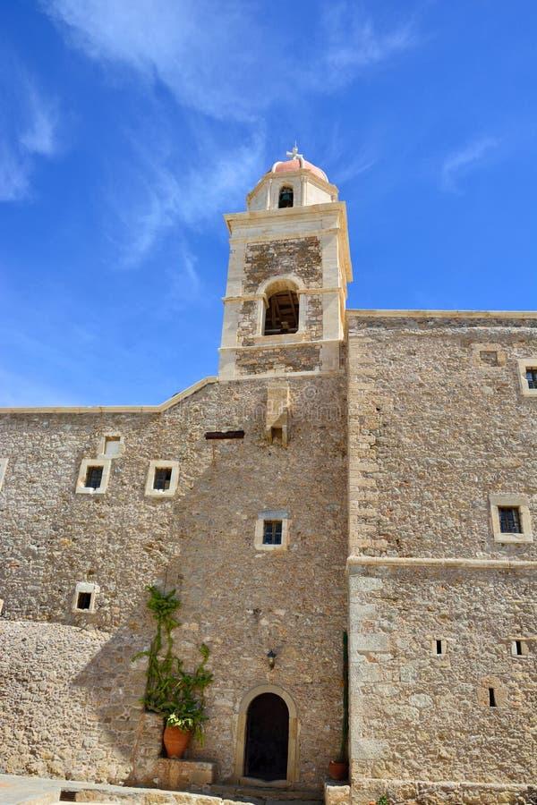 Monasterio Toplou, Grecia imágenes de archivo libres de regalías