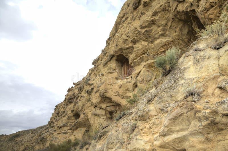 Monasterio Udabno imágenes de archivo libres de regalías