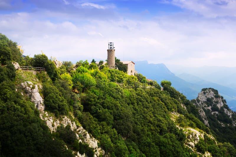 Download Monasterio Y Santuario De Queralt En Los Pirineos Foto de archivo - Imagen de cataluña, cultura: 44851896
